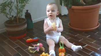 30 Seconds Into This Cute Baby Video, Something Awesome Happens. What!!