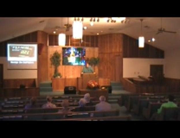 Brad Roberts Preaching