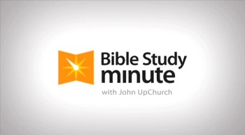 Bible Study Minute: Getting Started with Bible Study
