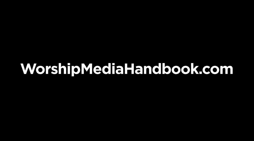The Worship Media Handbook by Jeff McIntosh