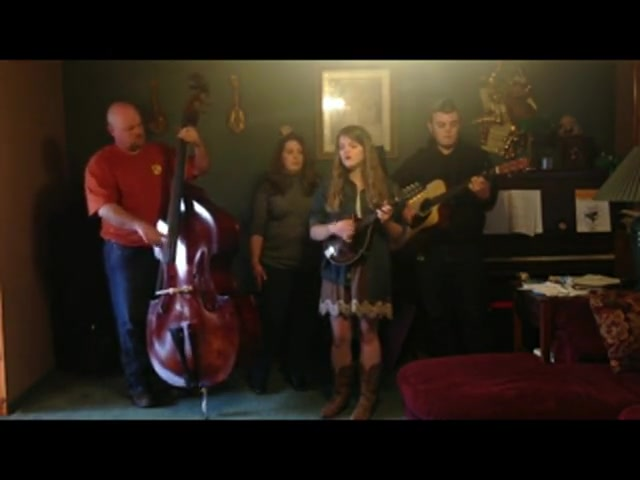 The Alley Family sings