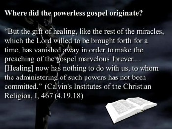 Confronting the Powerless Gospel with God's Word (Part 1)