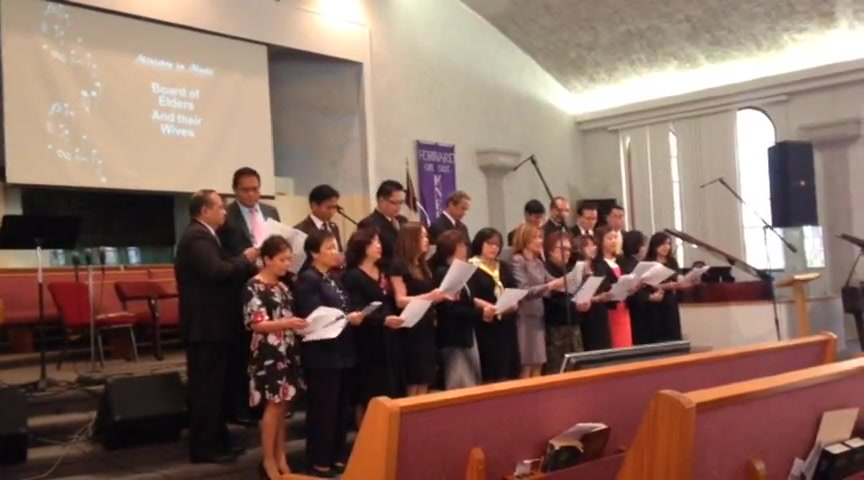 Glendale Filipino Special Music: Pastors & Elders with Spouses