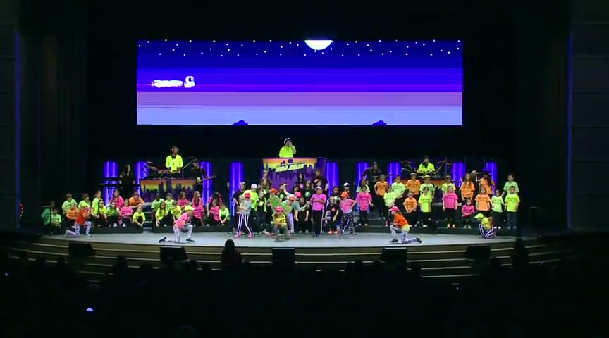 Awesome Kid's Choir Performance - Go Glow!