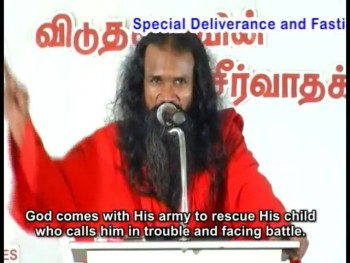 Your time for deliverance-Apostle Sadhu Sobitharaj