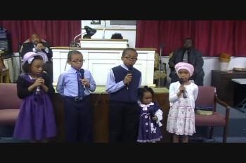 GANDY CHILDREN QUOTING SCRIPTURES