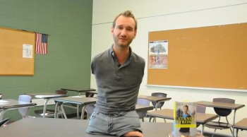 Nick Vujicic Stands Strong Against Bullying