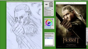LEGOLAS (speed draw)