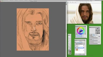 SON OF GOD (drawing)