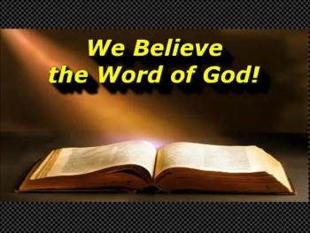We Believe the Word of God - Randy Winemiller