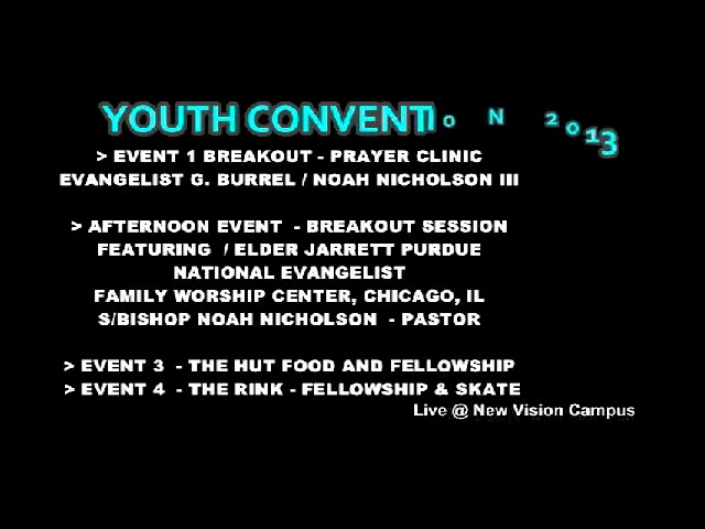 Youth Convention 2013