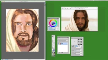 SON OF GOD (painting finale)