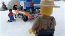 Lego State Trooper; Lego animation