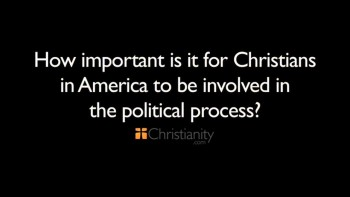 Christianity.com: How important is it for Christians in America to be involved in the political process? - Shawn Akers