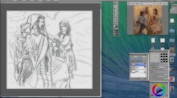 JESUS love the little children (speed draw)