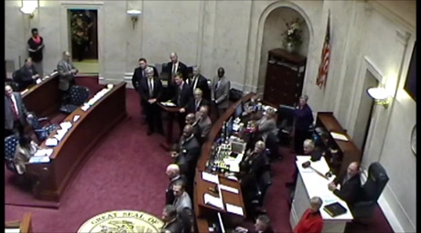 Assembly of God Pastors in the Arkansas Senate