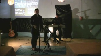 Give Myself Away & Here I Am to Worship | Performed by Michelle and Justin Valerio | Contranormal