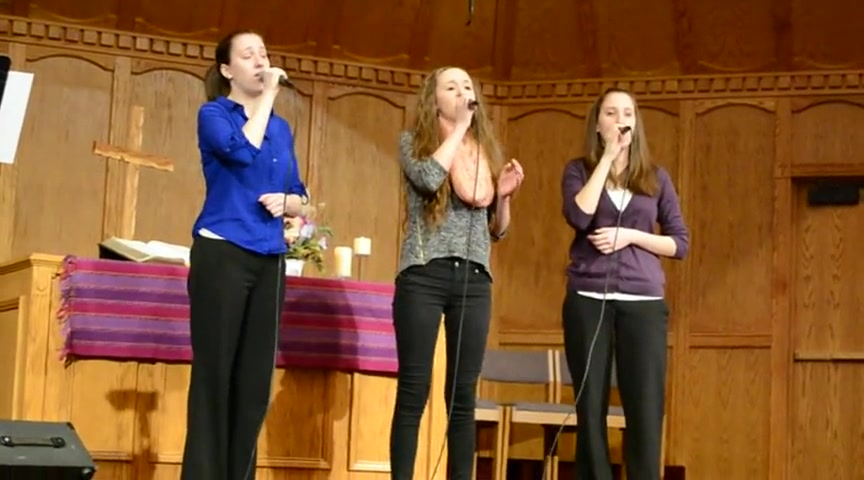 Three Sisters Worship God With Powerful Rendition of What A Savior