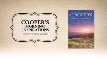 Xulon Press book COOPER'S MORNING INSPIRATIONS | Elder Tyrone D. Cooper