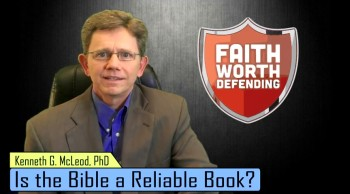 Is the Bible a reliable book?