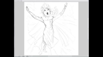 Let it Go speed draw