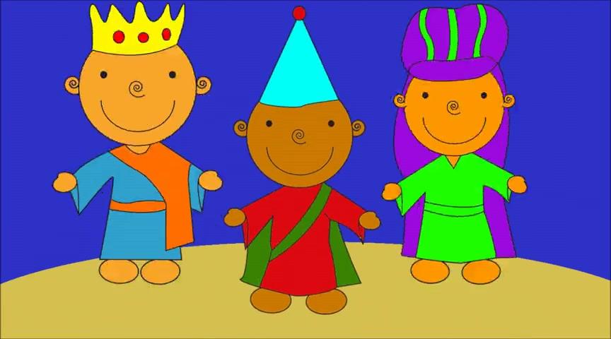 We Three Kings Cartoon