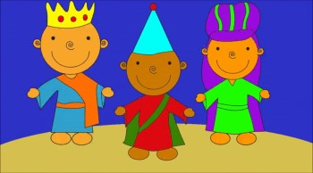 We Three Kings Cartoon