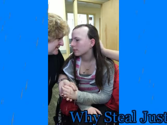 Why Steal Justina's Joy