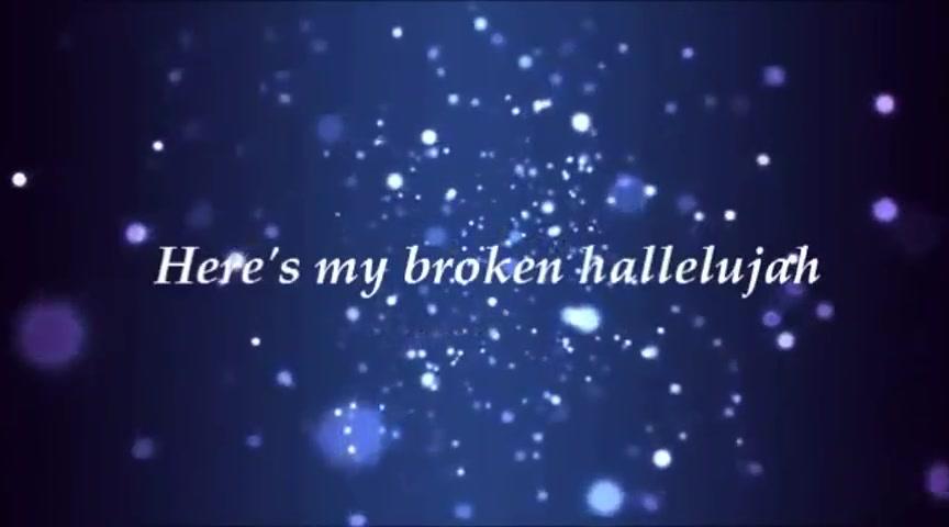 the afters broken hallelujah