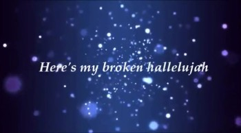the afters broken hallelujah