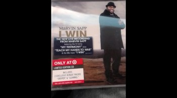Marvin Sapp Leaning by written by Titus Glenn