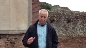 Randy Singer on location in Rome talking about The Advocate