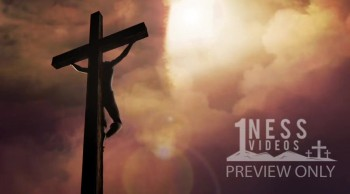 Jesus on the Cross Church Video Background Loop - Oneness Videos