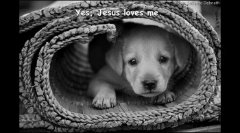 Jesus Loves Me - public domain Christian hymns - Country gospel music songs with on-screen lyrics