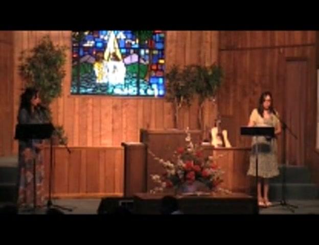 Community Easter Program at First Baptist Church Wink