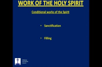 DVD4 WORK OF THE HOLY SPIRIT