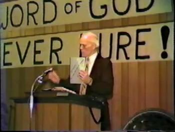 """BFTBC – Part 2 """"The New Testament Text of Scripture""""-- Pastor D. A. Waite, – BFT #1418"""