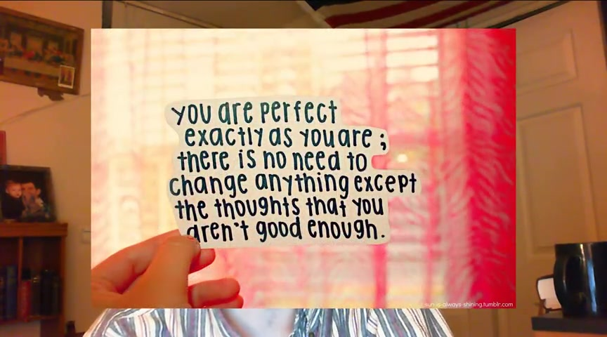 You Are Perfect - Relative Perfection