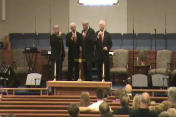 "Kingswood Quartet Singing, ""Each Step I Take"""