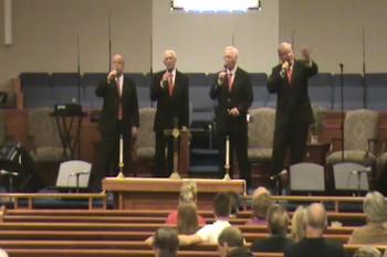 """Kingswood Quartet Singing, """"All Aboard"""""""