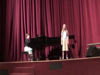 10 Year old sings The Power of the Cross