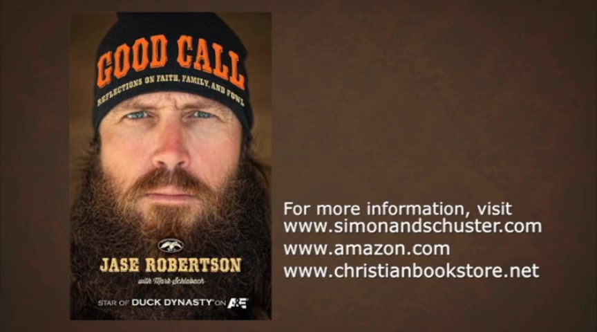 """Good Call"" - An Interview with Duck Dynasty's Jase Robertson"