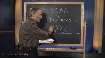 BT Daily -- NCAA and Bible Prophecy
