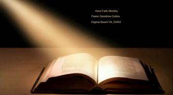 Have Faith Ministries 4-30-14 & 5-4-14