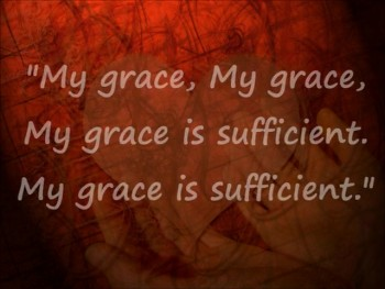My Grace is Sufficient Shane & Shane lyrics video