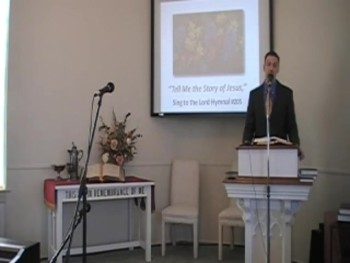 "Hymn: ""Tell Me the Story of Jesus,"" First OPC Perkasie PA 5/11/2014"