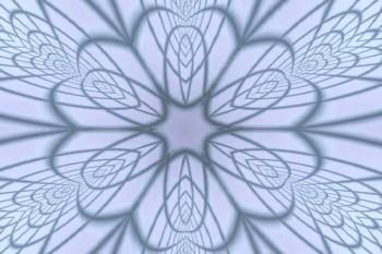 blue filigree