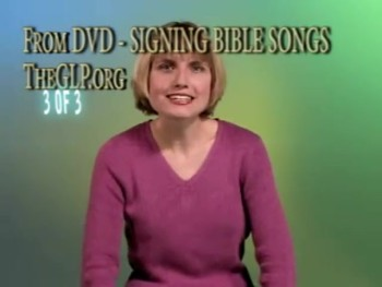 Signing Bible Songs Part 3 - Introduction for Babies or Children