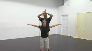 Jelani and Kiera Christian Rap Unity Dance