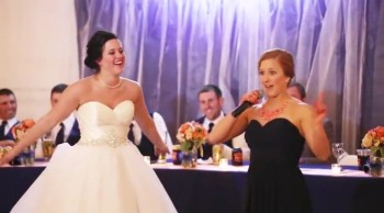 Maid of Honor Raps to Fresh Prince of Bel Air Theme Song - MUST WATCH!